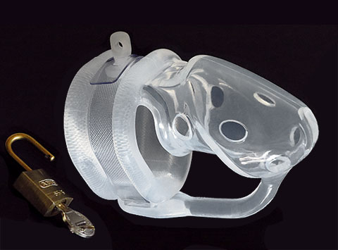 Transparent cage chastity Birdlocked CDC10
