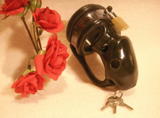 Black cage chastity Birdlocked CDC12
